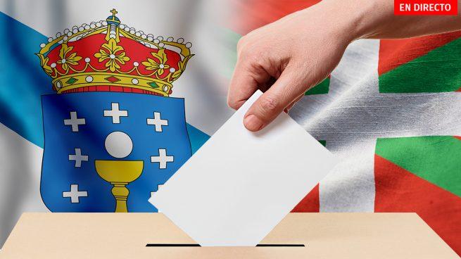 Elecciones Galicia y País Vasco, última hora en directo: resultados, votos, escaños y posibles pactos electorales