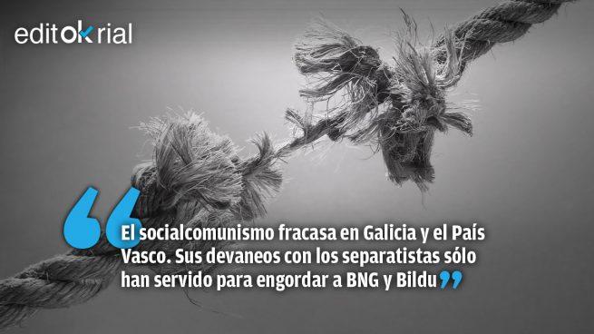 Sánchez e Iglesias son una fábrica de independentistas