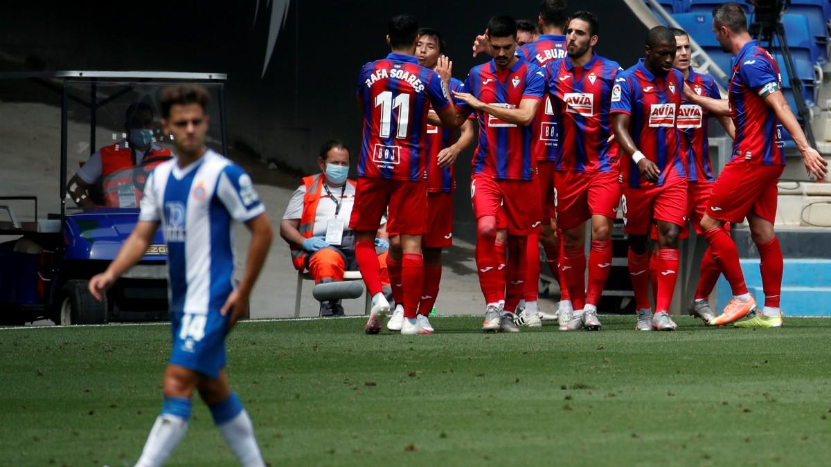 Espanyol – Eibar: jornada 36 de la Liga Santander.