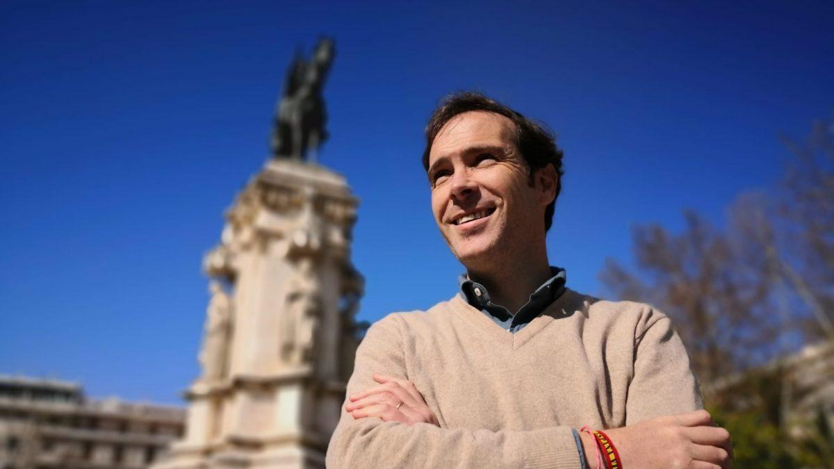 Javier Cortés, presidente de la gestora de Vox Sevilla.