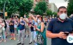 Más de 300 personas protestan en las calles de Lérida contra la nueva orden de confinamiento