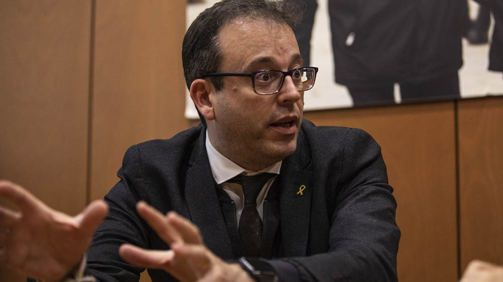 Marc Solsona, portavoz del PDeCAT en el Parlamento de Cataluña.