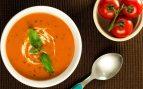Receta de crema de tomate rápida en el microondas