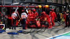 Ferrari no arranca e inquieta a Carlos Sainz. (Getty)