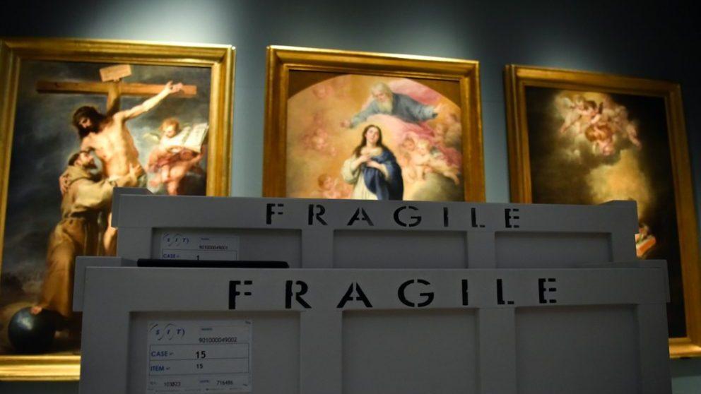 Este es el precio de salida para la subasta del cuadro 'Cabeza de Cristo' de Murillo.