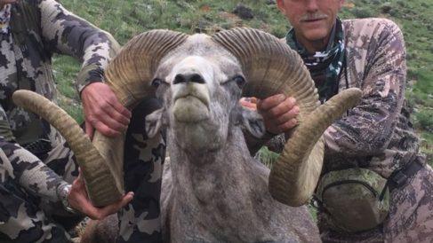 El cazador que mató al famoso león Cecil caza ahora a un carnero salvaje protegido