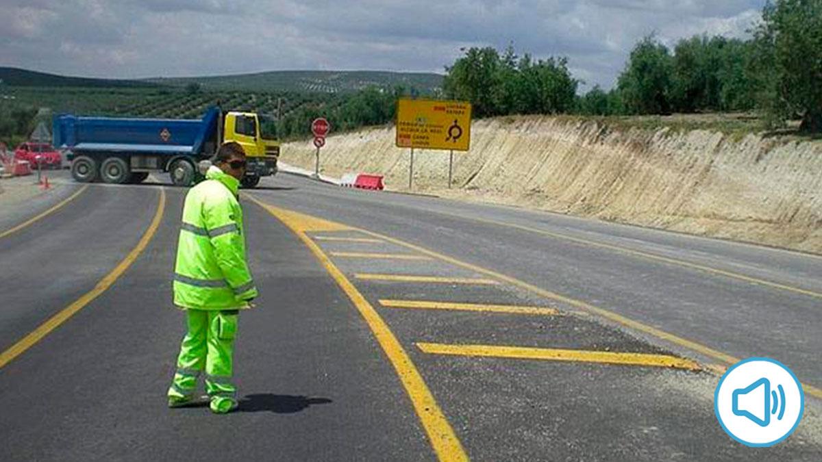 Imagen de archivo de una carretera