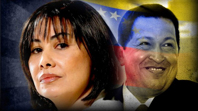 Enfermera del dictador bolivariano Hugo Chávez, Claudia Patricia Díaz Guillén.