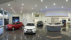 Imagen de un concesionario Lexus en España. (lexus.es)