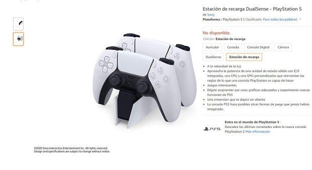 PS5: Así es el mando Dual Sense de la consola de Sony