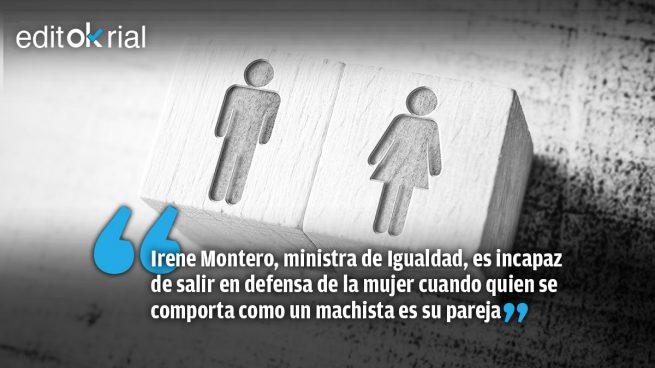 La cobardía moral de una ministra que se comporta como «la señora de Iglesias»