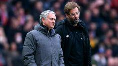 José Mourinho y Jurgen Klopp, juntos en un encuentro. (Getty)