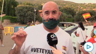 Miguel Frontera vecino de Galapagar detenido por grabar a Iglesias.