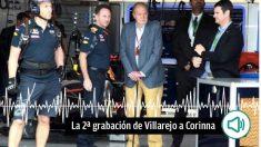 El teniente coronel de la Guardia Civil Vicente García Mochales (el primero por la derecha), en una imagen junto al rey emérito Juan Carlos I.