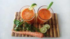 Remedios caseros: jarabe de zanahoria