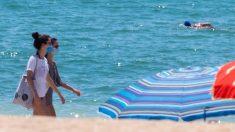 Visitantes en las playas @EFE
