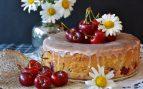 Receta de bizcocho de nata relleno de cerezas
