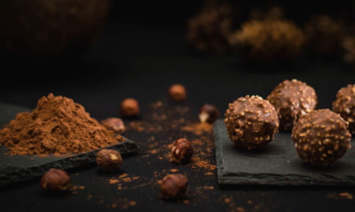 caramelo y chocolate