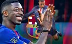 Dembélé para convencer a Mbappé