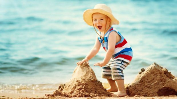 Juegos de playa para niños de 4 a 6 años