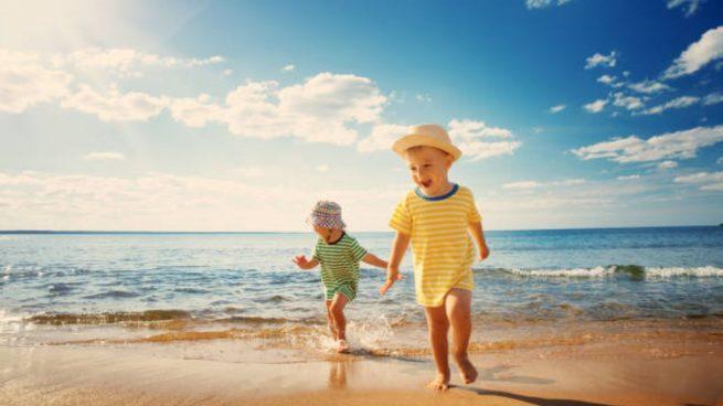 juegos playa niños