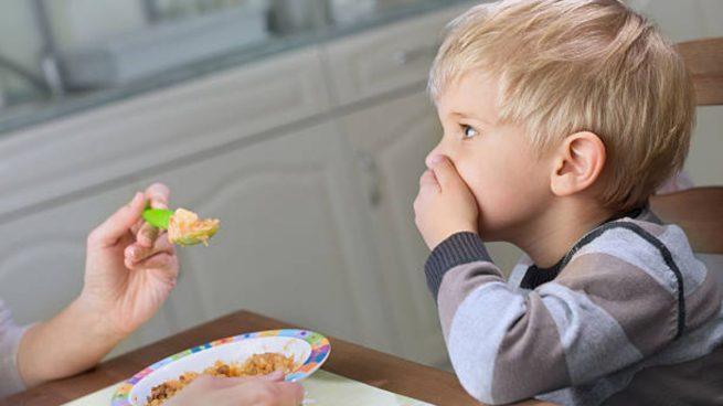 niños no quieren comer