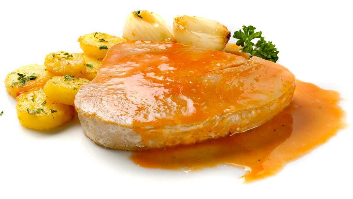 Receta de Bonito en salsa agridulce
