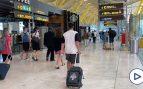 El comercio de Barajas recupera poco a poco la normalidad con el aumento de los vuelos