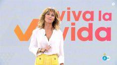 Emma García, presentadora de 'Viva la vida'