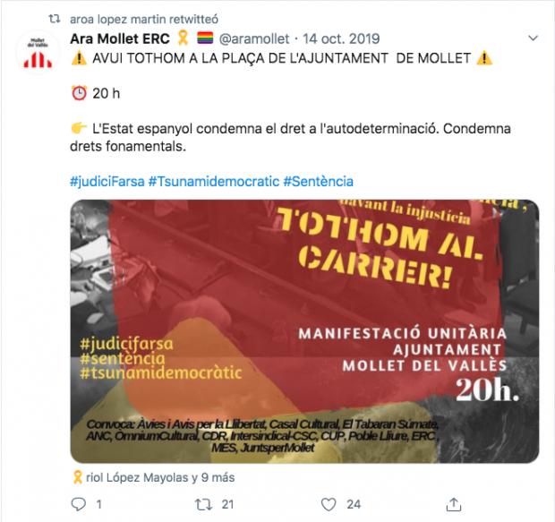 La sanitaria elegida por Moncloa para leer en el homenaje de Estado jaleó un escrache separatista a Sánchez