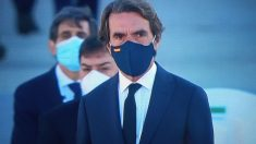 El ex presidente Aznar