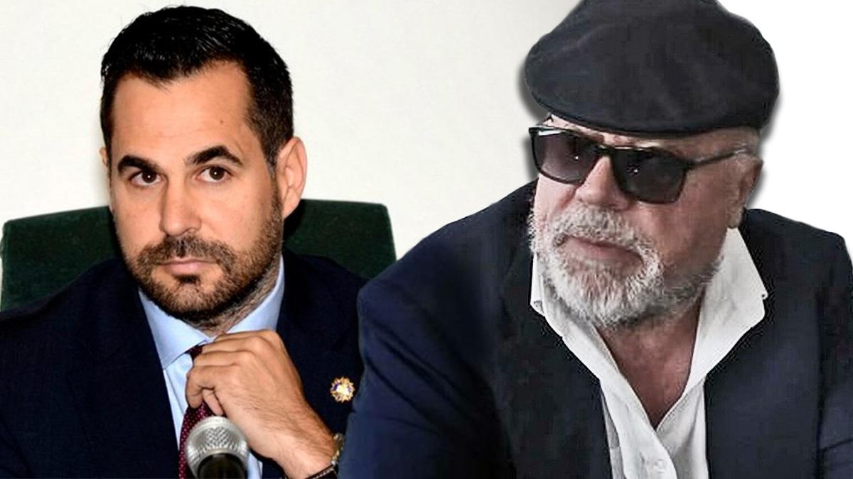 El comisario Villarejo y el fiscal Stampa