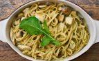 Receta de pasta con champiñones y salsa de tofu