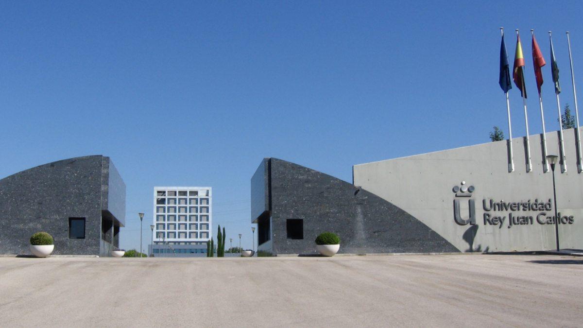 Entrada de la Universidad Rey Juan Carlos de Madrid
