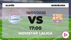 Alavés – Barcelona: partido de la jornada 38 de Liga Santander.