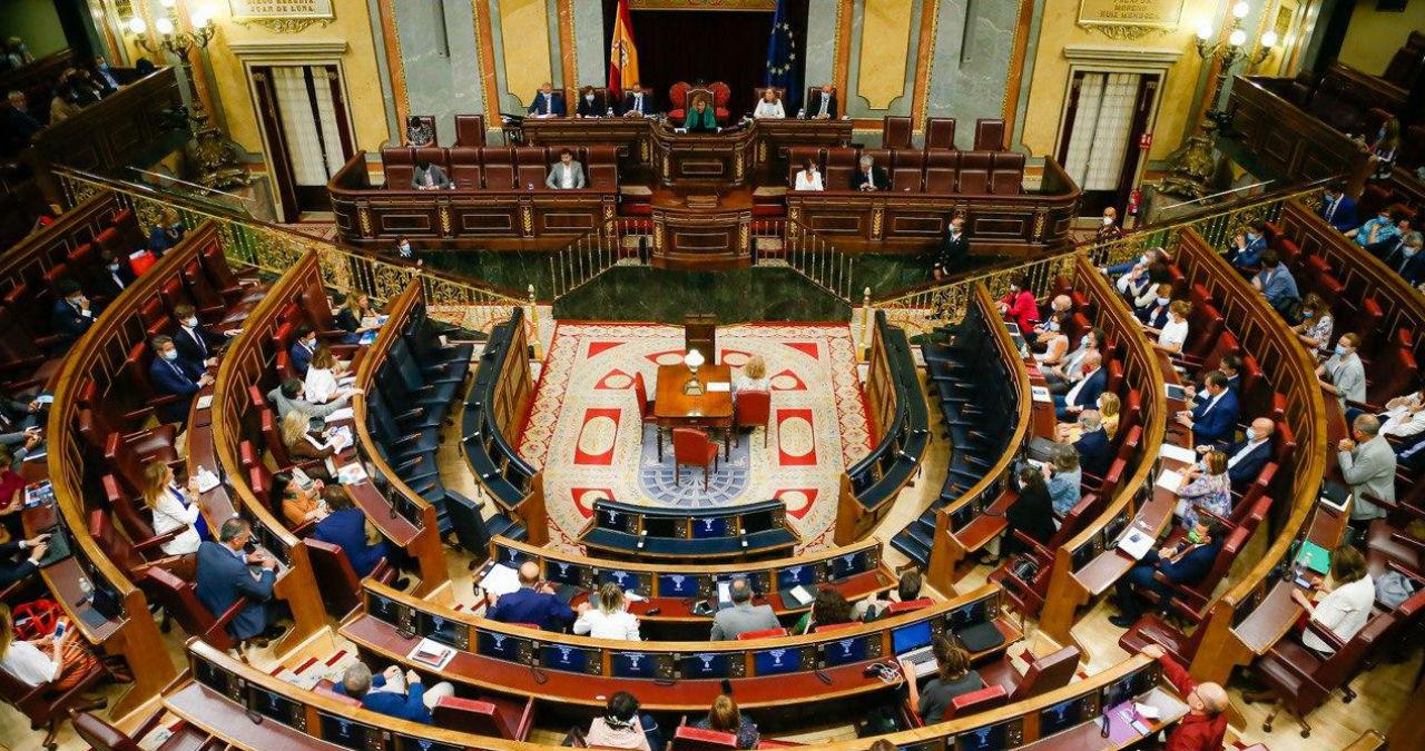 Vista de un pleno celebrado en el Congreso de los Diputados. (Foto: Congreso)