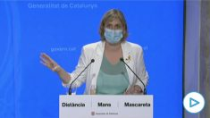Alba Vergés, consejera de Salud de la Generalitat de Cataluña: «La mejor manera de detener el virus es no contagiarnos».