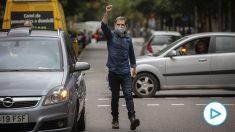 El golpista Jordi Cuixart da un mitin en plena calle tras salir de la cárcel: «Seguiremos luchando».