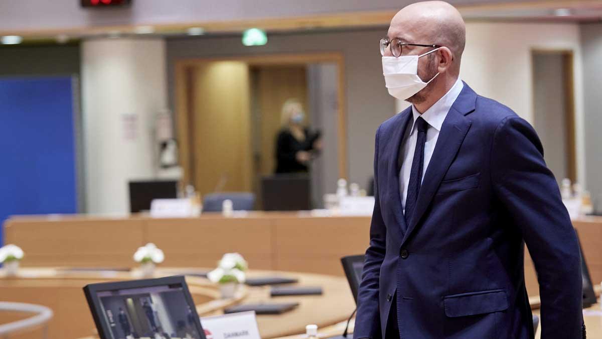 El presidente del Consejo Europeo, Charles Michel. Foto: Europa Press.