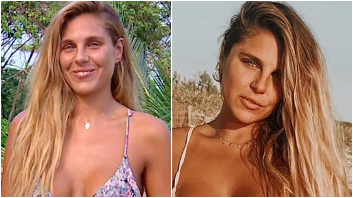 El antes y el después de Ivana Icardi.