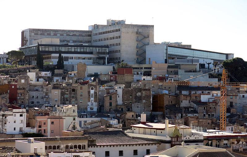 El Hospital de Tortosa en una imagen de archivo. Foto: Salut