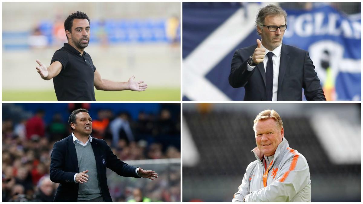 Los entrenadores candidatos a sustituir a Setién.