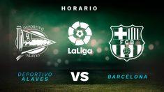 El Alavés recibirá al Barcelona en Mendizorroza.