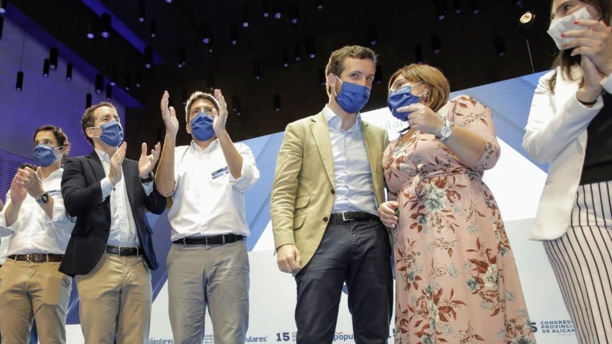 Pablo Casado este sábado en el congreso del PP de Alicante. (Foto: EP)