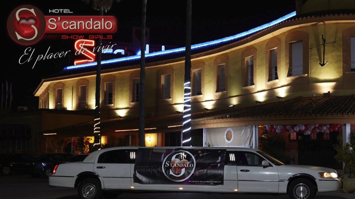 Imagen promocional del club S'cándalo.