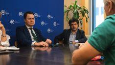 Mario Garcés y Carlos Rojas, en imagen de archivo. (Foto: PP)