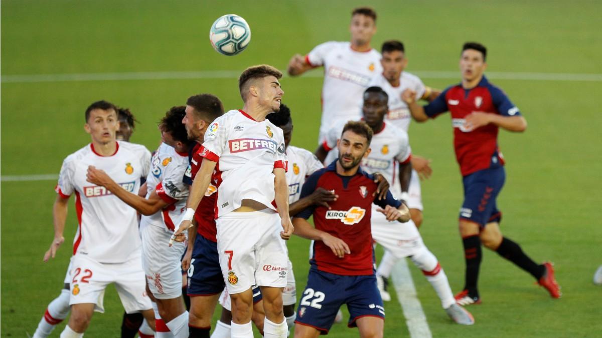 Osasuna y Mallorca firmaron tablas. (EFE)