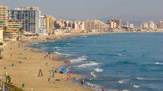 Playa de San Javier (Murcia).