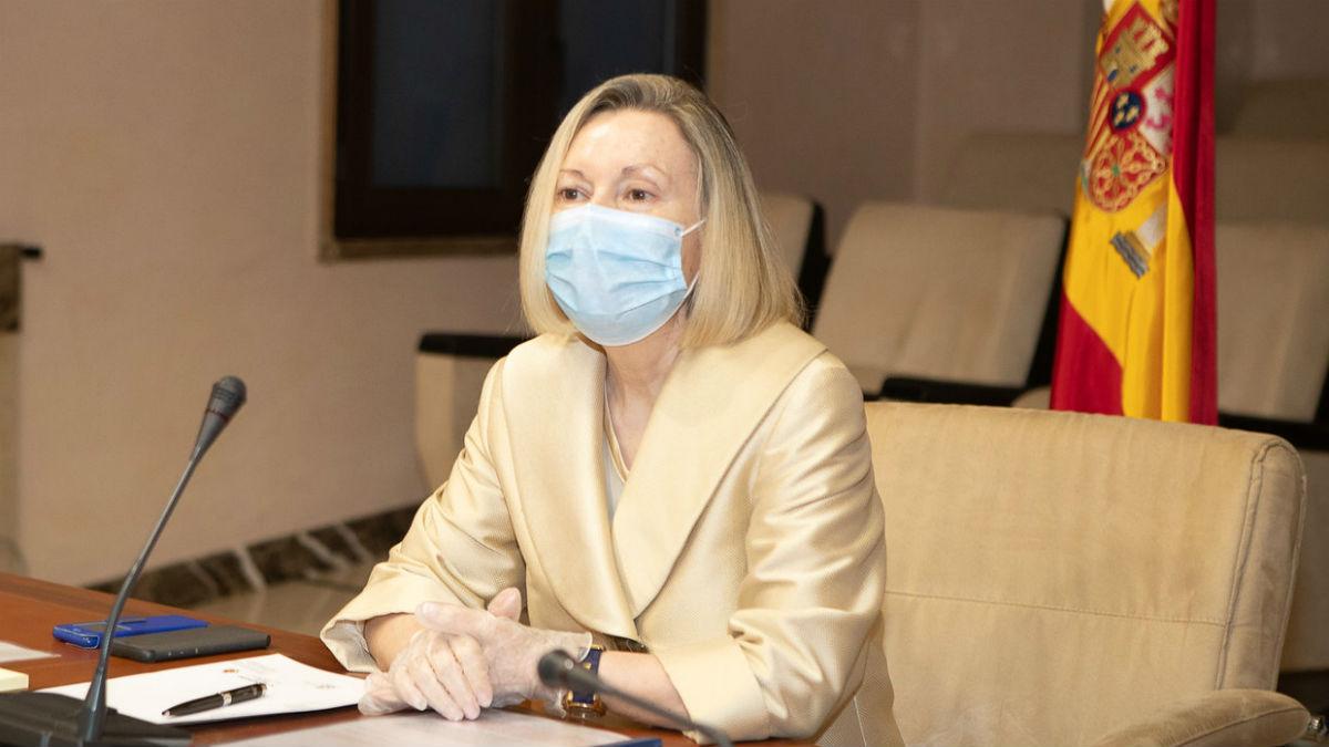 Amparo Valcarce, subsecretaria de Defensa. (Foto: Ministerio de Defensa)