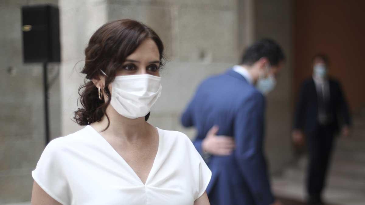 Isabel Díaz Ayuso, presidenta de la Comunidad de Madrid. Foto: Europa Press